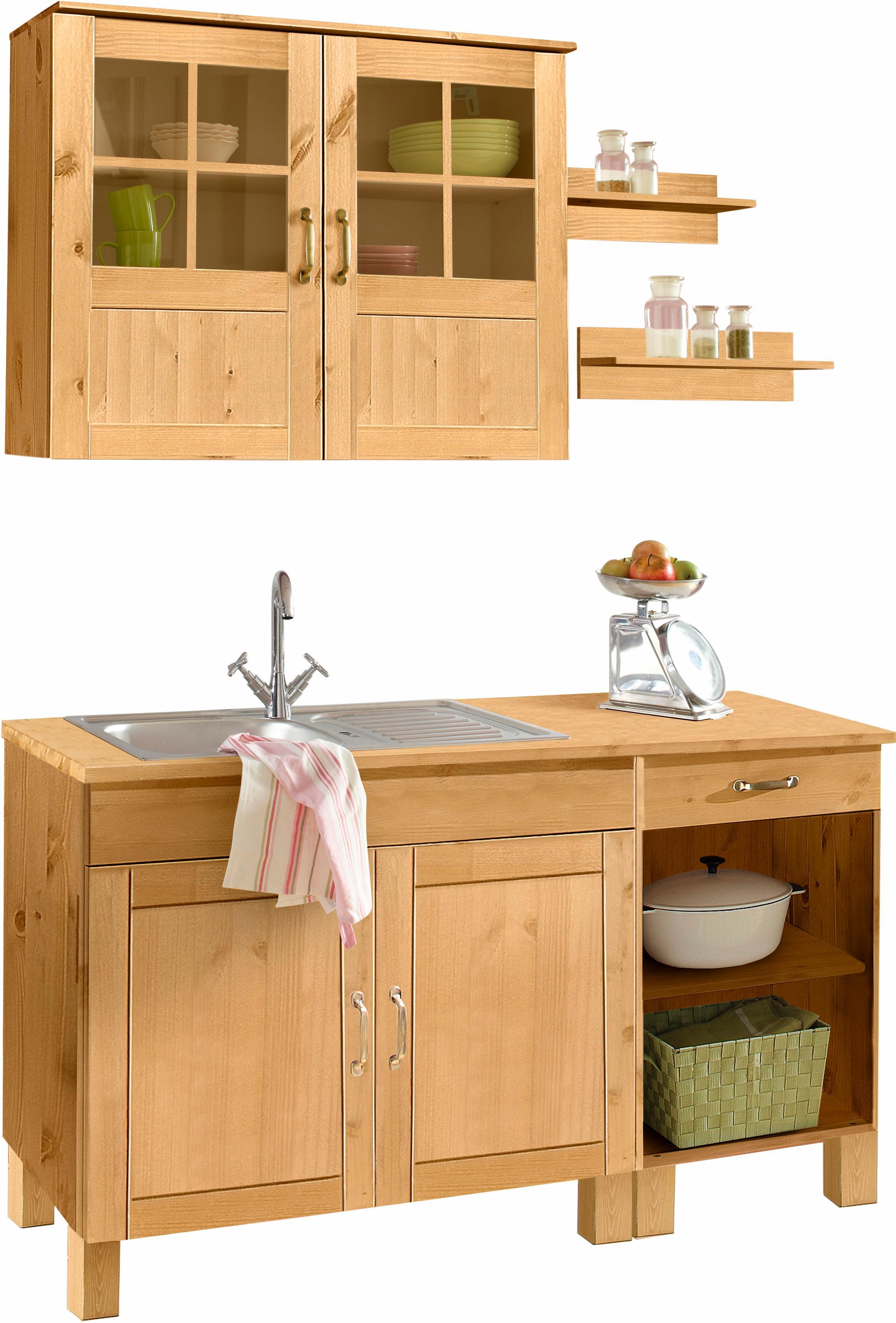 home affaire k chen set alby ohne e ger te breite 150. Black Bedroom Furniture Sets. Home Design Ideas