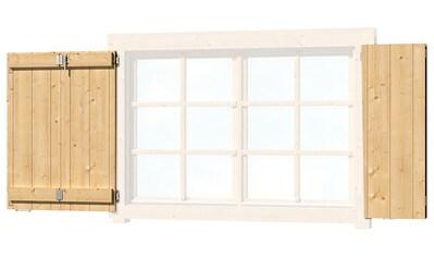 OUTDOOR LIFE PRODUCTS Fensterladen , BxH: 129x88 cm, für Gartenhaus »Colorado« kaufen