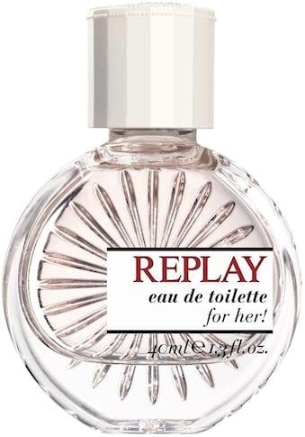 "Replay Eau de Toilette ""For Her"" kaufen"
