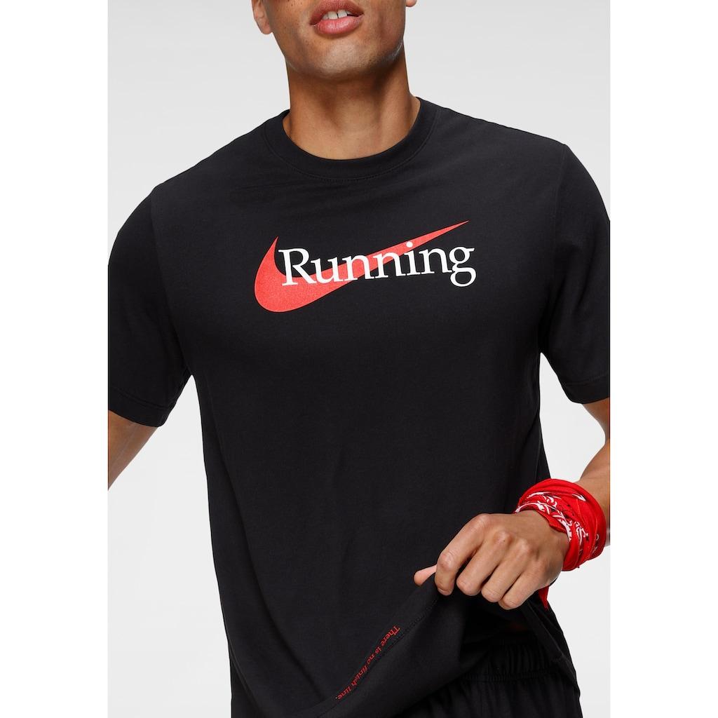 Nike Laufshirt »DRI-FIT MENS RUNNING T-SHIRT«