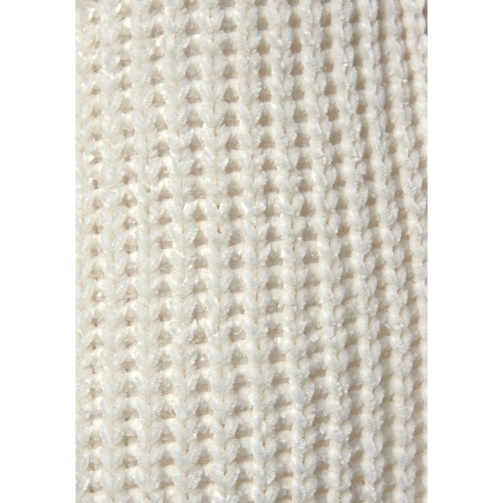 LASCANA Strickjacke, aus weichem Chenille