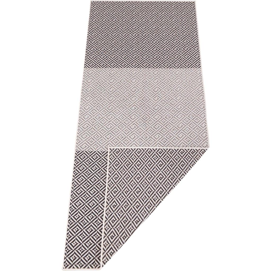 bougari Läufer »Maui«, rechteckig, 5 mm Höhe, In- und Outdoor geeignet, Wendeteppich