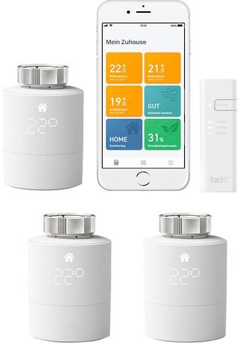 Tado Smart-Home Starter-Set »Smartes Heizkörper-Thermostat V3+ mit 2 zusätzlichen... kaufen