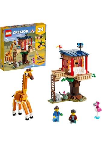 LEGO® Konstruktionsspielsteine »Safari-Baumhaus (31116), LEGO® Creator«, (397 St.) kaufen