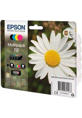 Epson Tintenpatrone »Tinte Multipack 18 (C13T18064012)« kaufen