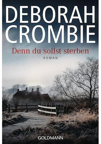 Buch »Denn du sollst sterben / Deborah Crombie, Andreas Jäger« kaufen