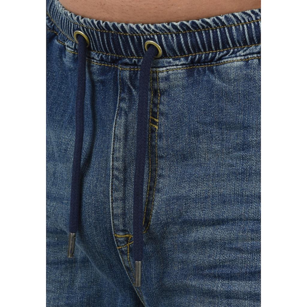 Blend Jeansshorts »Demo«, kurze Hose mit elastischem Bund