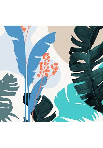 Komar Fototapete »Vliestapete Tropical Shapes«, bedruckt-geblümt-floral-realistisch,... kaufen