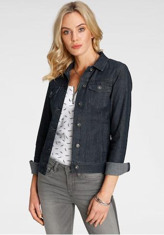 Arizona Jeansjacke, in klassischer Form mit Elastan-Anteil kaufen