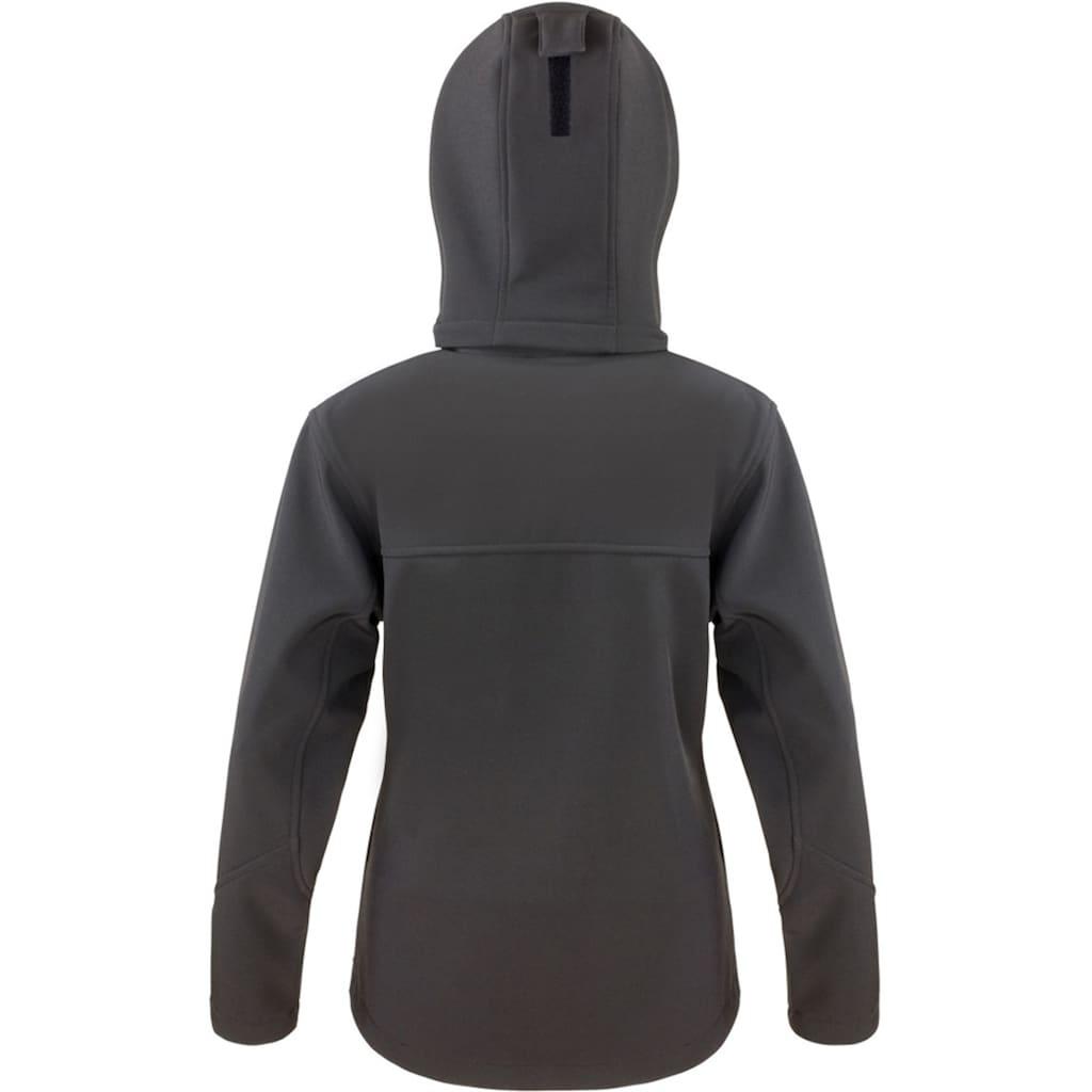 Result Softshelljacke »Core Lite Damen Softshell-Jacke mit Kapuze«