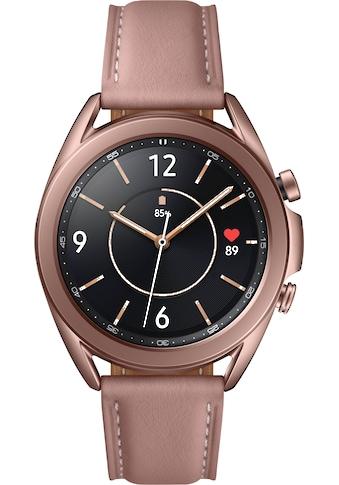 Samsung Smartwatch »Galaxy Watch 3, Edelstahl, 41 mm, Bluetooth (SM-R850)«, (Android... kaufen
