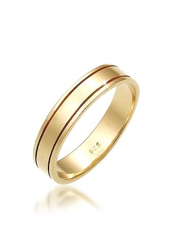 Elli Fingerring »Paarring Bandring Trauring Hochzeit Ehe 925 Silber« kaufen