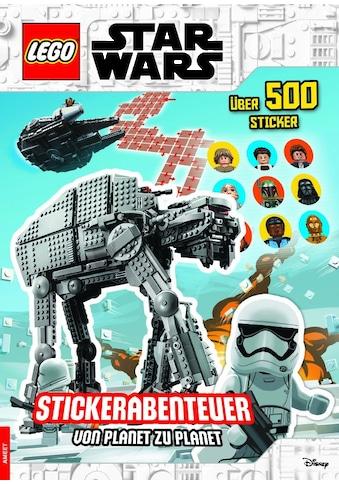 Buch LEGO Star Wars(TM)  -  Stickerabenteuer  -  von Planet zu Planet / DIVERSE kaufen