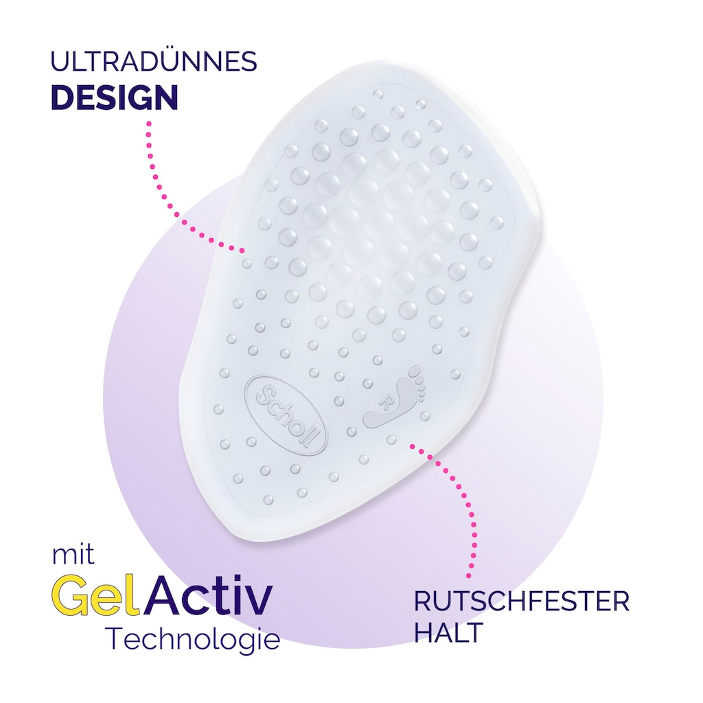 Scholl Gelsohlen »Party Feet Ballenpolster mit GelActiv Technologie«