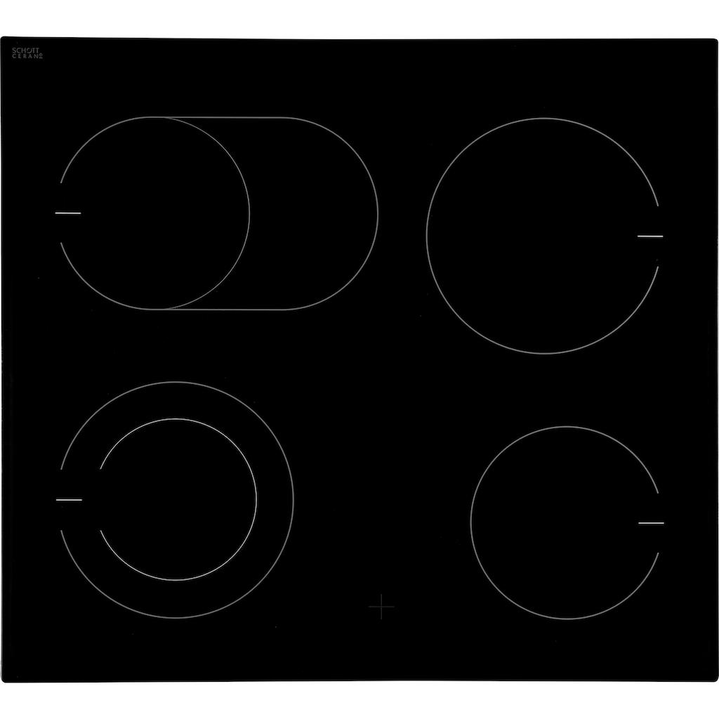 Amica Elektro-Herd-Set »EHC 933 001 E«, EHC 933 001 E, (Set), RapidWarmUp-Funktion