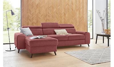 exxpo - sofa fashion Ecksofa, inklusive Kopf- bzw. Rückenverstellung, wahlweise mit... kaufen