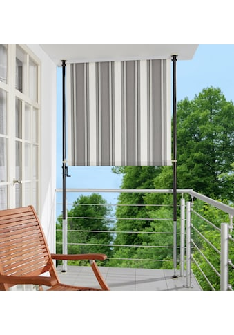 ANGERER FREIZEITMÖBEL Klemm - Senkrechtmarkise anthrazit/grau, BxH: 120x225 cm kaufen