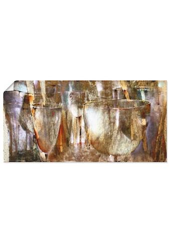 Artland Wandbild »Lichtspiel«, Getränke, (1 St.), in vielen Größen & Produktarten -... kaufen