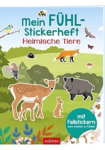Buch »Mein Fühl-Stickerheft - Heimische Tiere / Lena Bellermann« kaufen