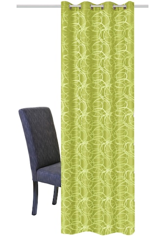 HOME WOHNIDEEN Vorhang »LENNY«, HxB: 245x140, Dekostoff Jacquardgemustert kaufen