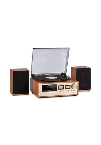 Auna Stereoanlage DAB+/FM BT - Funktion Vinyl CD AUX »Turntable« kaufen