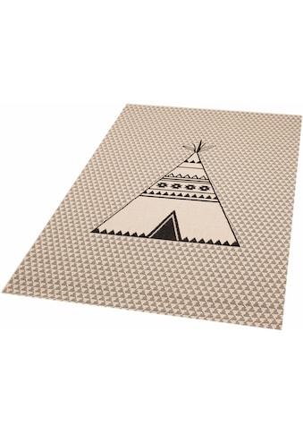 Zala Living Kinderteppich »Tipi Noya«, rechteckig, 4 mm Höhe, besonders weich durch... kaufen