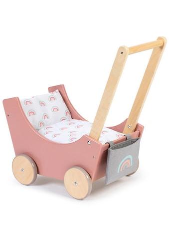 MUSTERKIND® Puppenwagen »Barlia, altrosa/natur« kaufen