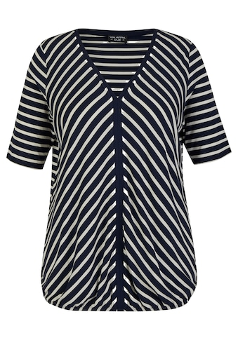 VIA APPIA DUE Blusenshirt, mit offenem V und Gummizug-Saum kaufen