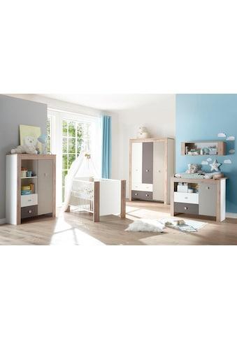 Mäusbacher Babyzimmer-Komplettset »Madrid«, (Set, 3 St.), Bett + Wickelkommode + 3... kaufen