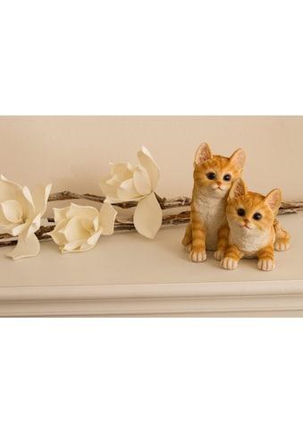 Myflair Möbel & Accessoires Dekofigur »Katzenkinder«, Schwarz/weiß kaufen