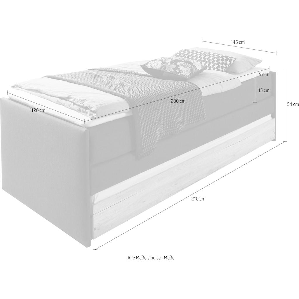Wimex Boxspringbett »Colorado«, mit Stauraum, bzw. zusätzlicher Liegefläche