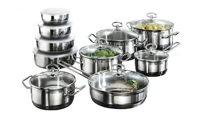 Karcher Kochtopfset aus Edelstahl, Induktion »Jasmin«, (20tlg.) kaufen
