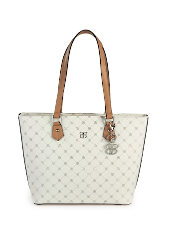Basler Handtasche mit Schulterriemen und Logo-Muster kaufen