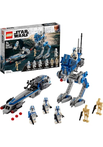 LEGO® Konstruktionsspielsteine »Clone Troopers™ der 501. Legion™ (75280), LEGO® Star Wars™«, (285 St.), Made in Europe kaufen