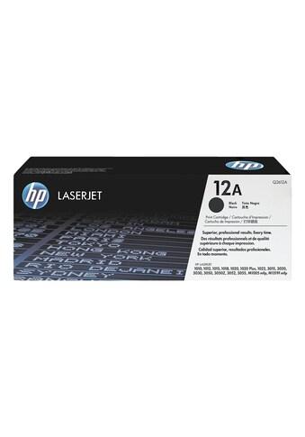HP Druckkassette HP 12A kaufen