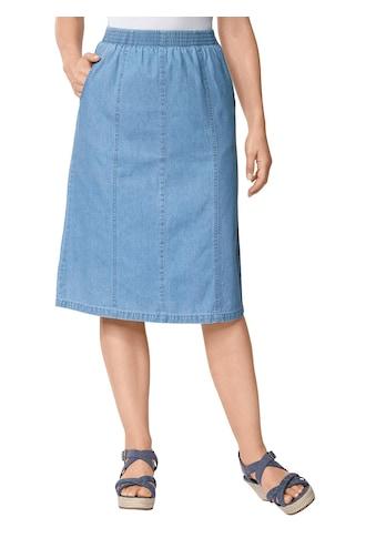 Classic Basics Jeans - Rock aus reiner Baumwolle kaufen