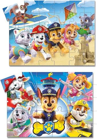 Clementoni® Spielesammlung »Edukit 4in1 Paw Patrol«, Made in Europe; mit Puzzle, Memo... kaufen