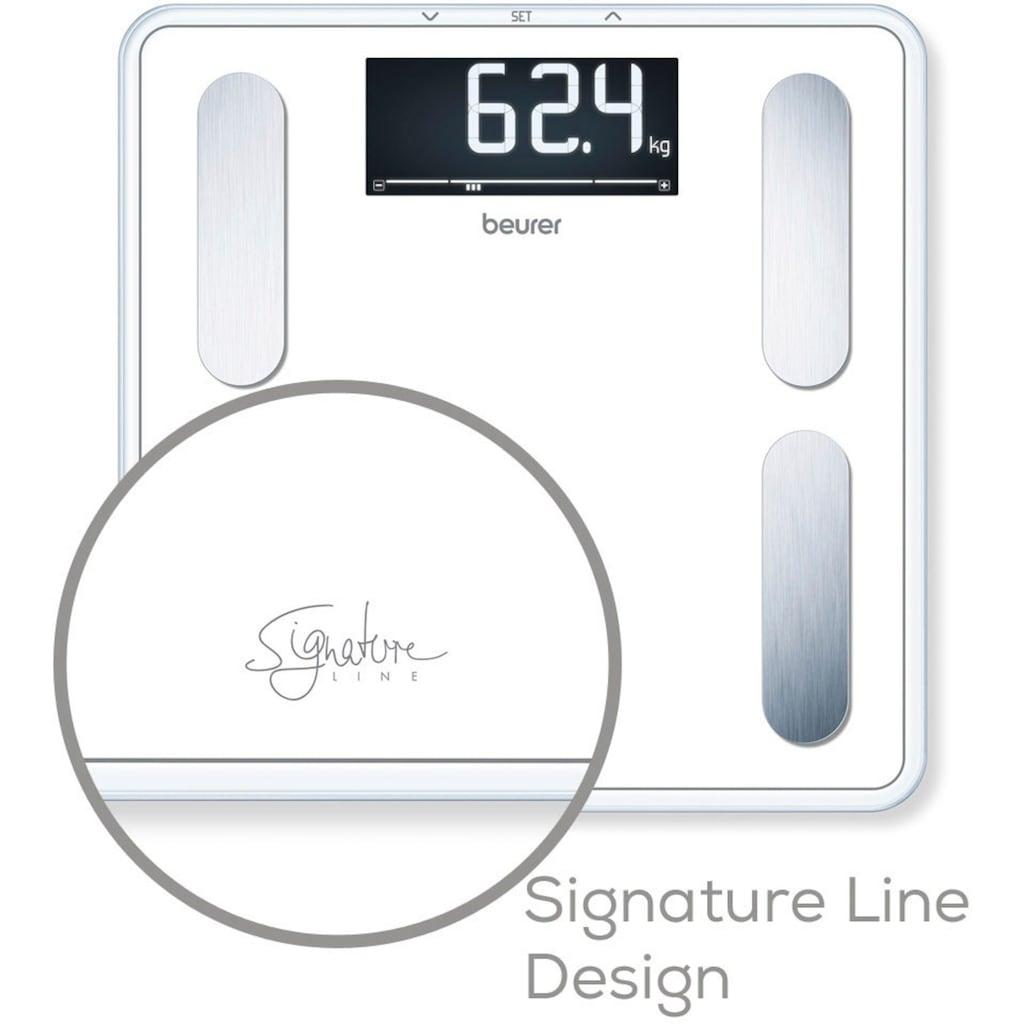 BEURER Körper-Analyse-Waage »BF 400 Signature Line«