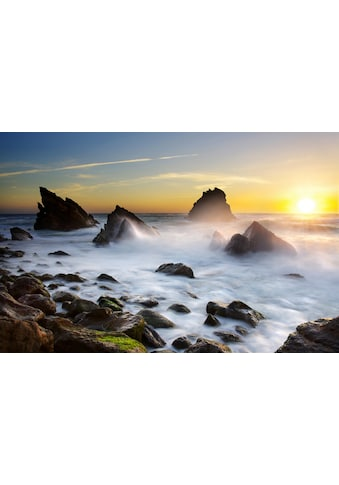 Papermoon Fototapete »Adraga Beach Portugal«, samtig, Vliestapete, hochwertiger... kaufen