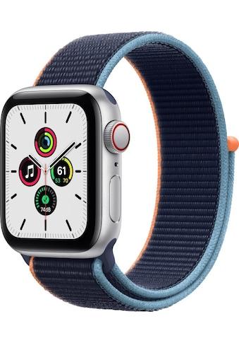 Watch Series SE GPS + Cellular, Aluminium Gehäuse, 40 mm mit Sportarmband, Apple kaufen