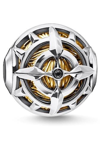 THOMAS SABO Bead »Kompass gold, K0334-414-7«, mit Zirkonia kaufen