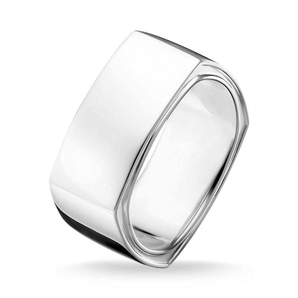 THOMAS SABO Silberring »Viereckig Silber, TR2280-001-21-52, 54, 56, 58, 60, 62, 64, 66, 68«