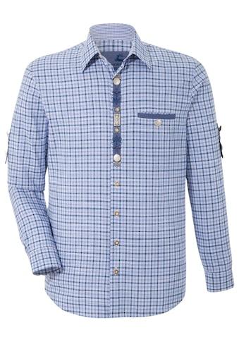 OS-Trachten Trachtenhemd, mit dekorativer Knopfleiste kaufen