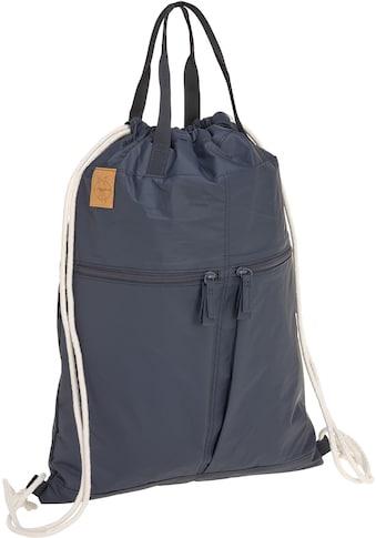 Lässig Kinderwagen-Tasche »Green Label, Tyve String Bag navy«, inkl. Kinderwagenbefestigungen kaufen