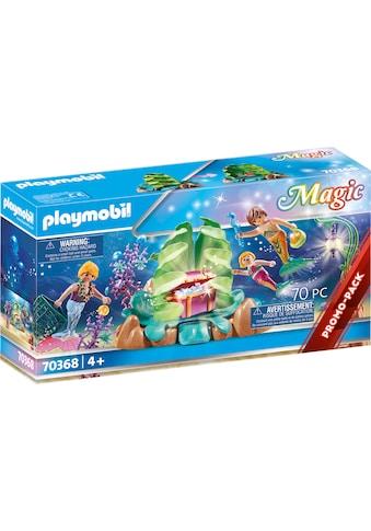 """Playmobil® Konstruktions - Spielset """"Korallen - Lounge der Meerjungfrauen (70368), Magic"""", Kunststoff kaufen"""