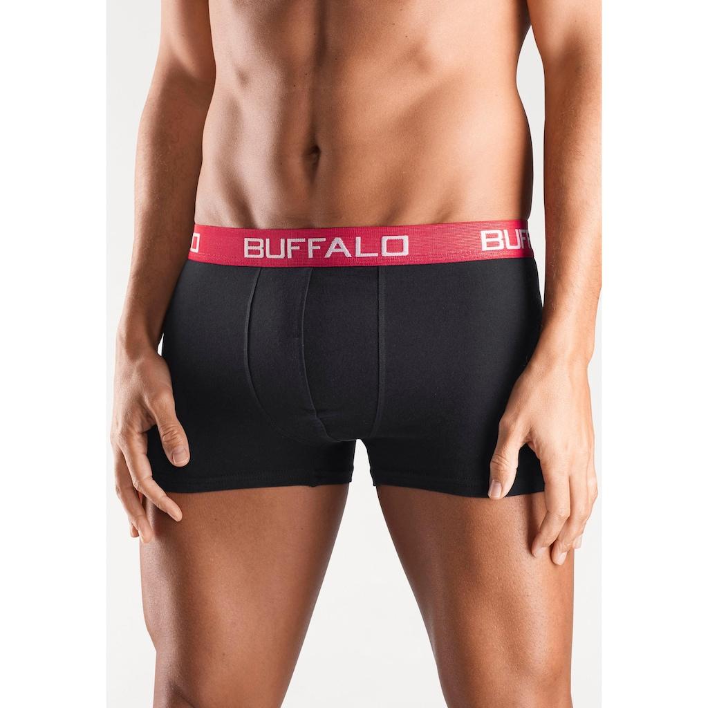 Buffalo Boxer, (4 St.), unifarbene Retro Pants