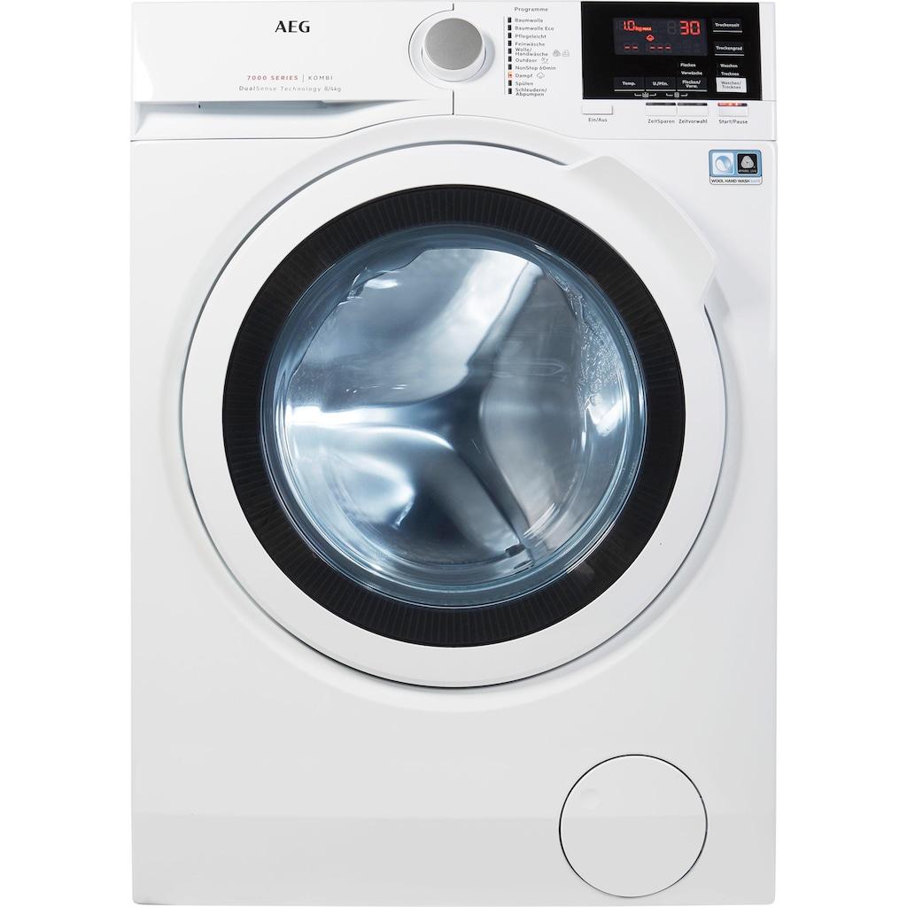 AEG Waschtrockner »LAVAMAT KOMBI L7WB65684«, Serie 7000, mit DualSense für schonende Pflege