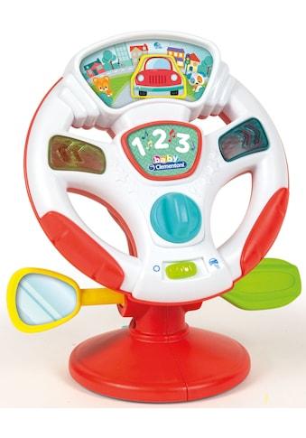 Clementoni® Lernspielzeug »Clementoni Baby - Aktivitäts-Lenkrad« kaufen