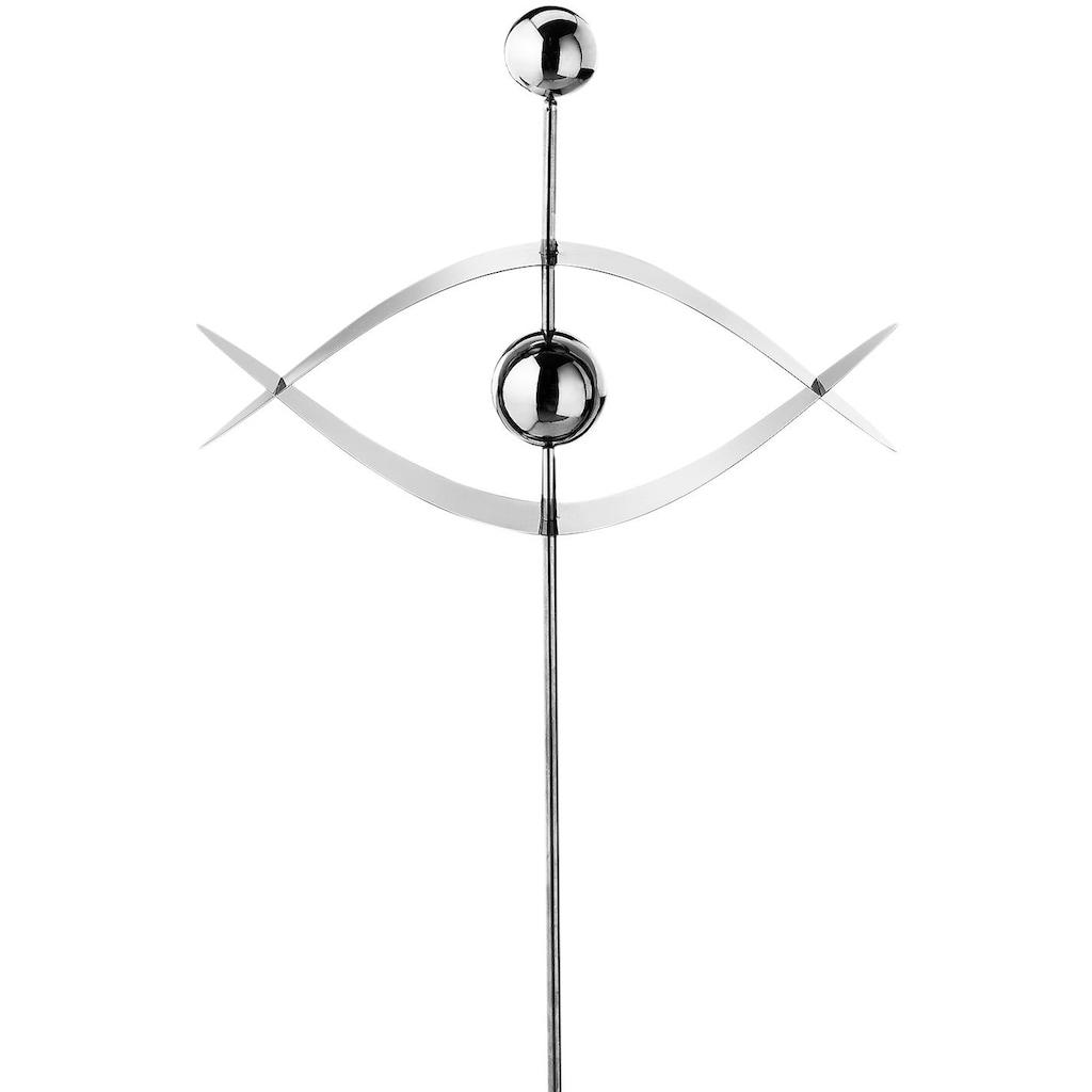locker Deko-Windrad »Eye«, aus Edelstahl 116 cm