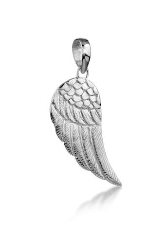 Kuzzoi Kettenanhänger »Herren Flügel Kettenanhänger Glück 925 Silber« kaufen